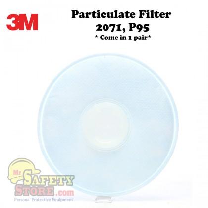 3M PARTICULATE FILTER 2071, P95 (1 Pair)