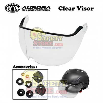 Aurora Safety Helmet AU-M02 White
