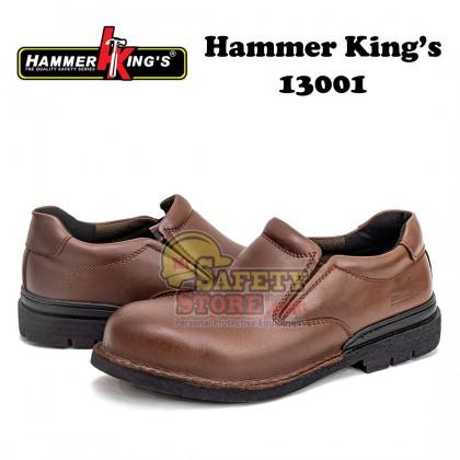 Hammer King 13001 Brown Low-Cut Slip On