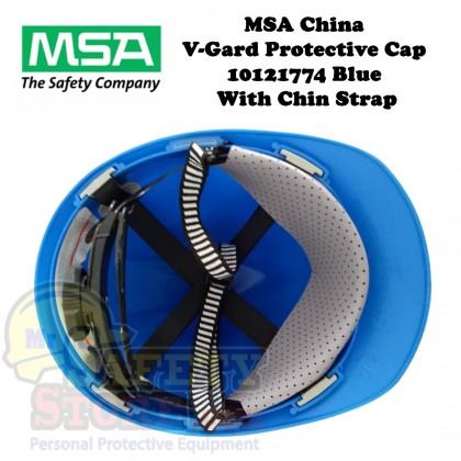 MSA V-Gard Protective Cap - Blue (Original China)