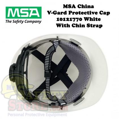 MSA V-Gard Protective Cap - White (Original China)
