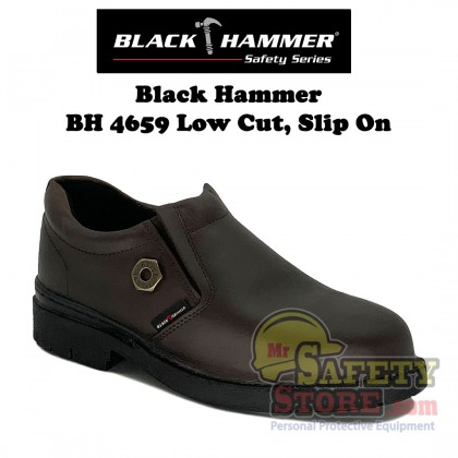 Balck Hammer 4000 Series Low Cut Slip On Safety Shoes BH4659
