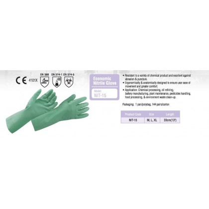 Proguard NIT-15 Economic Nitrile Glove
