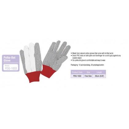Proguard PDG-1033 Polka-Dot Glove