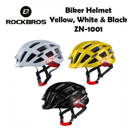 Rockbros Biker Helmet ZN-1001 (Night Safety Riding LED Helmet MTB Helmet)