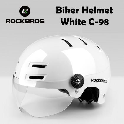 ROCKBROS  Biker Helmet C-98 (MTB Road Bike Helmet Safety Helmet)