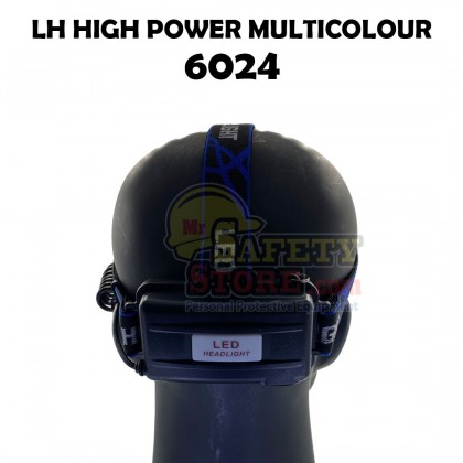 LH High Power Head Lamp 6024- Red (Batteries Included)