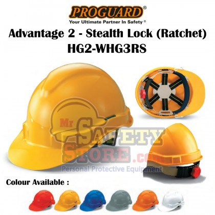 Proguard Advantage 1-Stealth Lock(Ratchet)HG2-WHG3RS