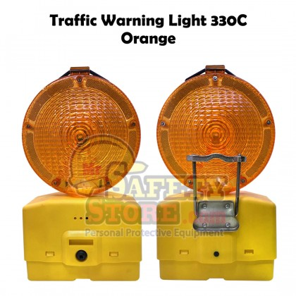 Traffic Warning Light 330C - Orange