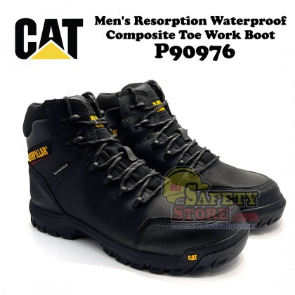 Caterpillar Men's Resorption Waterproof Composite Toe Work Boot P90976