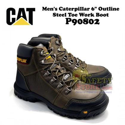 Caterpillar Men's Outline Steel Toe Work Boot P90802