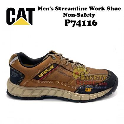 Caterpillar Streamline Leather Slip Resistant Work Shoe P74116