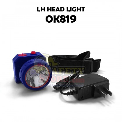 LH HeadLight OK-819 BLUE