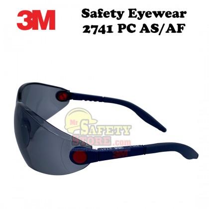 3M Safety Eyewear 2741 PC AS/AF - Smoke