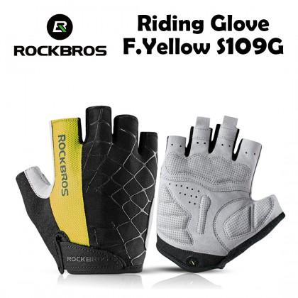 Rockbros Riding Glove F.Yellow S109G