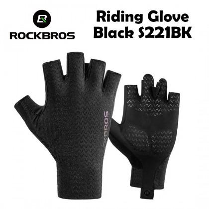Rockbros Riding Glove Black S221BK