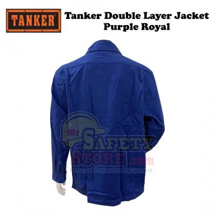 Tanker Double Layer Jacket- Purple Royal