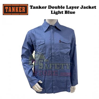 Tanker Double Layer Jacket- Light Blue