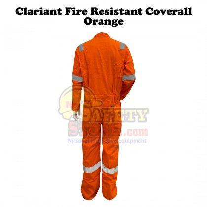 Clariant Fire Resistant Coverall- Orange